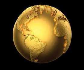 El Centro de la Tierra contiene suficiente Oro para enchapar al planeta con una capa de 4 metros de espesor (Crédito: Livescience.com)