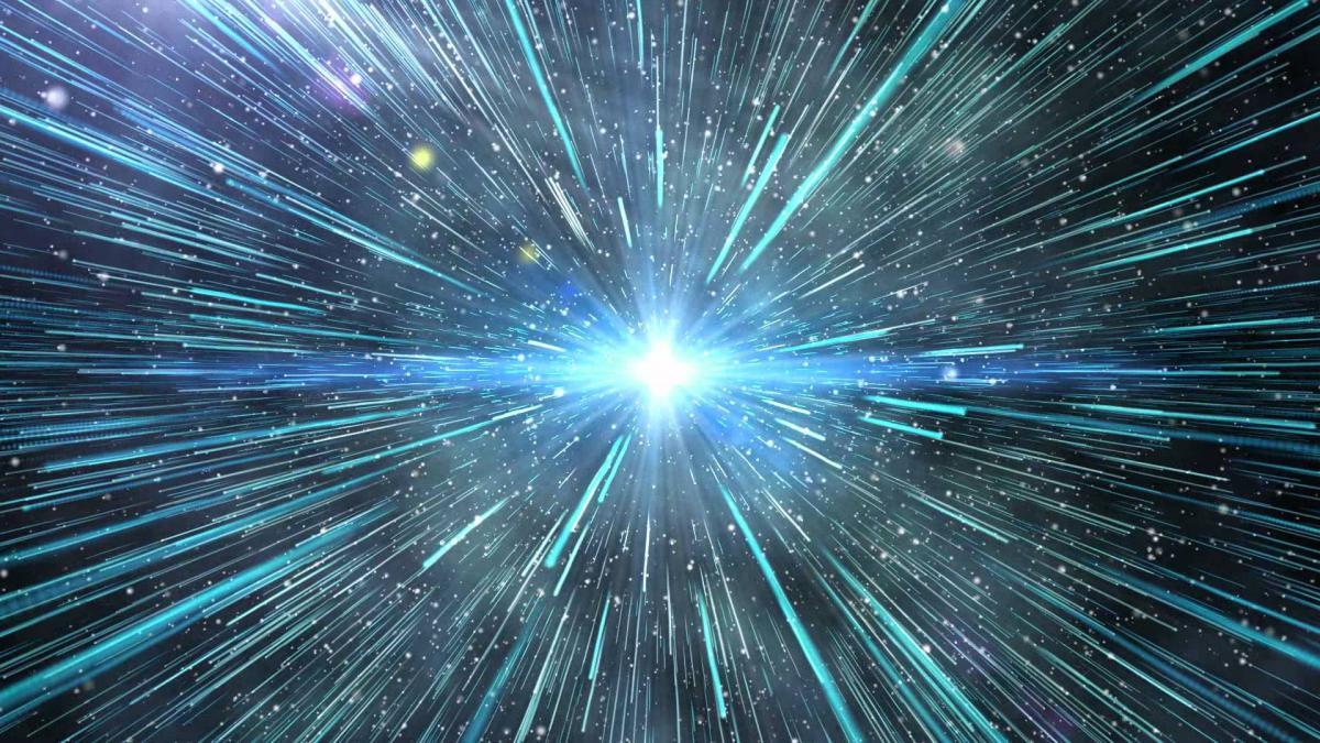 Esta imagen simplificada del Big Bang está mandada a recoger. Como muchos divulgadores lo sabemos y lo repetimos, el Big Bang no fue una explosión que ocurrió en un lugar del espacio. Pero ¿será este el único aspecto equivocado de las versiones más anticuadas de la teoría del Big Bang que estamos divulgando?