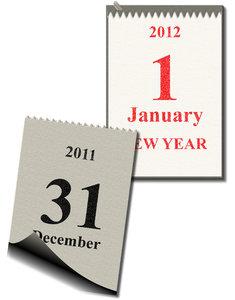 La celebración de fin de año se basa simplemente en el cambio de todos los dígitos del calendario: día, mes y año, pero poco tiene que ver esto con los fenómenos astronómicos que inspiraron originalmente el calendario