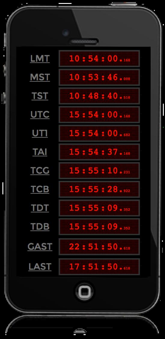 Así lucía la pantalla del celular del astrónomo cuándo le pregunte por la hora exacta.  Si quiere verificarlo usted mismo puede visitar ahora mismo la página: http://astronomia-udea.co/calendar?section=quehoraes