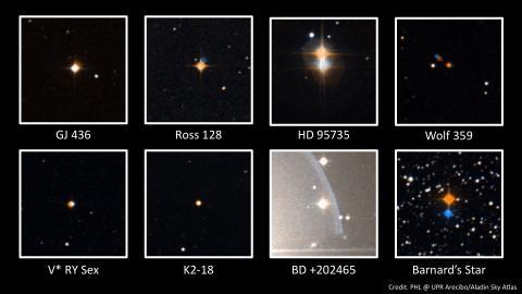 La estrella de Barnard será estudiada simultáneamente desde distintos observatorios